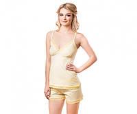 Майка + шорты Kosta 5064-8 104-108 (XL) пастельно-желтый