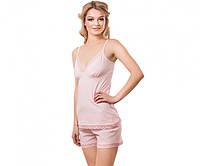 Майка + шорты Kosta 5064-7 104-108 (XL) пастельно-розовый
