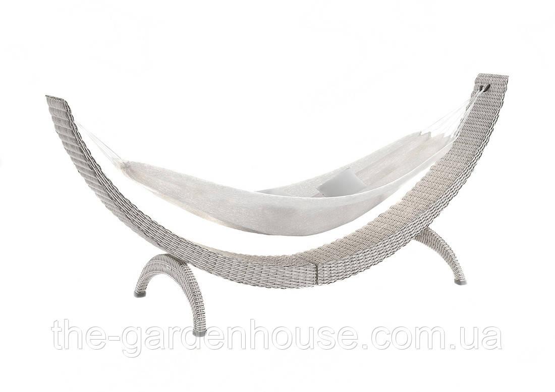 Гамак Siesta Royal из искусственного ротанга белый