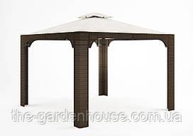 Садовый навес Canopy Royal из искусственного ротанга коричневый