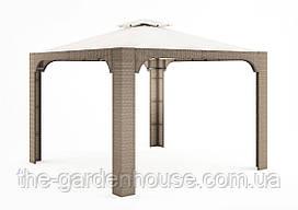 Садовый навес Canopy Royal из искусственного ротанга бежевый