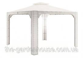 Садовый навес Canopy Royal из искусственного ротанга белый