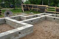 Ленточный фундамент из бетона Инвестор строй