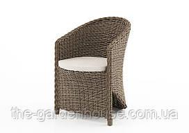 Садовое кресло Dolce Vita Royal из искусственного ротанга бежевое