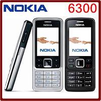 Оригинальный мобильный телефон Nokia 6300  1 sim, 2 дюйма, 2 Мп.
