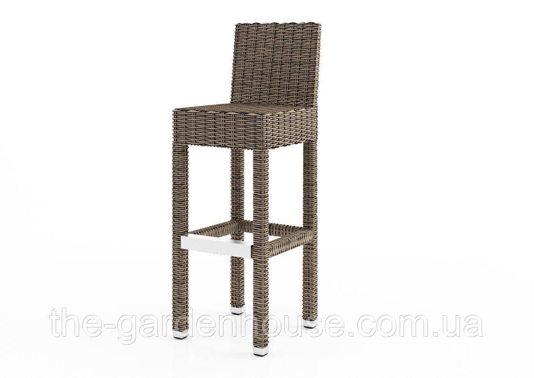 Барный стул Sondrio Royal из искусственного ротанга бежевый