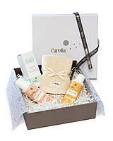Набор детский PACK PREMIUM (парфюм + шампунь-гель + молочко + полотенце) Carelia