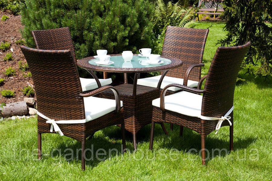 Садовый набор мебели Filip & Tramonto из искусственного ротанга, фото 1