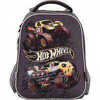 Школьный рюкзак для мальчика Hot Wheels 531 KITE.