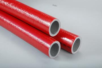 Теплоизоляция для труб в защитной оболочке 9x22мм