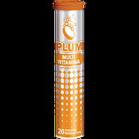 Растворимые витамины в таблетках PLUM MULTIVITAMIN   20 шт
