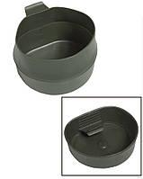 Шведская складная кружка Wildo Fold-A-Cup®, olive 600 ml. НОВАЯ.