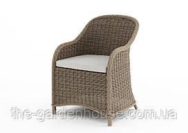 Садовое кресло Leonardo Royal из искусственного ротанга бежевое