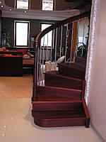 Лестницы из массива(дуб,ясень,граб)