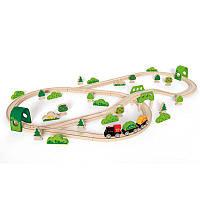 Набор железной дороги Hape Лесное приключение (E3713)