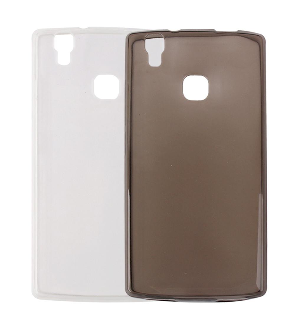 Обложка - чехол силиконовый для DOOGEE X5 MAX прозрачный
