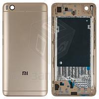 Корпус для мобильного телефона Xiaomi Mi5s, золотистый