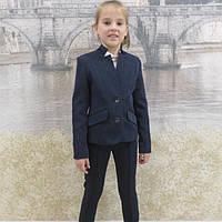 Брючный школьный костюм на девочку