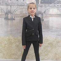 Школьный пиджак и брюки для девочки