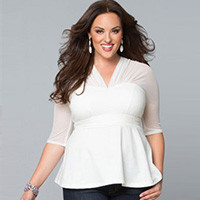 Блузы женские больших размеров