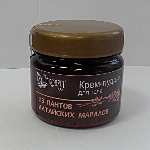 Крем-пудинг для тела из ПАНТОВ АЛТАЙСКИХ МАРАЛОВ 400г.