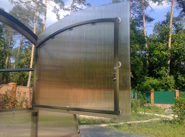 Усиленная теплица 3х6 метров на бетонном фундаменте 22