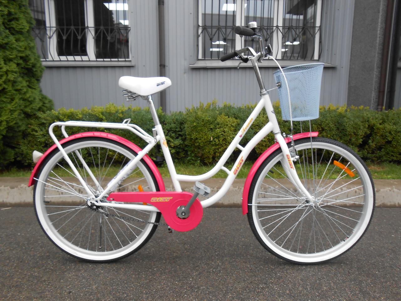"Велосипед женский AIST AVENUE ""26 CTB с корзинкой"