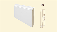 Плинтус напольный из МДФ модель M2
