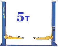 Гідравлічний підйомник 5т автомобільний двостійковий