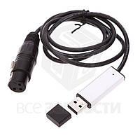 Компьютерный DMX512 USB-адаптер для управления освещением сцены