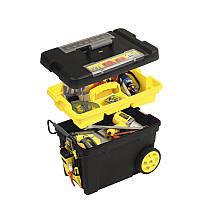 Ящик для инструмента на колесах с органайзерами, 61,3х37,5х41,9см,  STANLEY 1-92-083