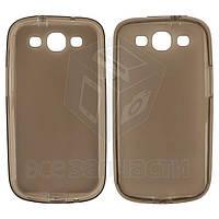 Силиконовый чехол для мобильных телефонов Samsung I747 Galaxy S3, I9300 Galaxy S3, I9301 Galaxy S3 Neo, I9305 Galaxy S3, серый, матовый