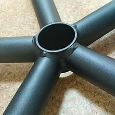 Крестовина стальная Бридж черная D=640мм, фото 2