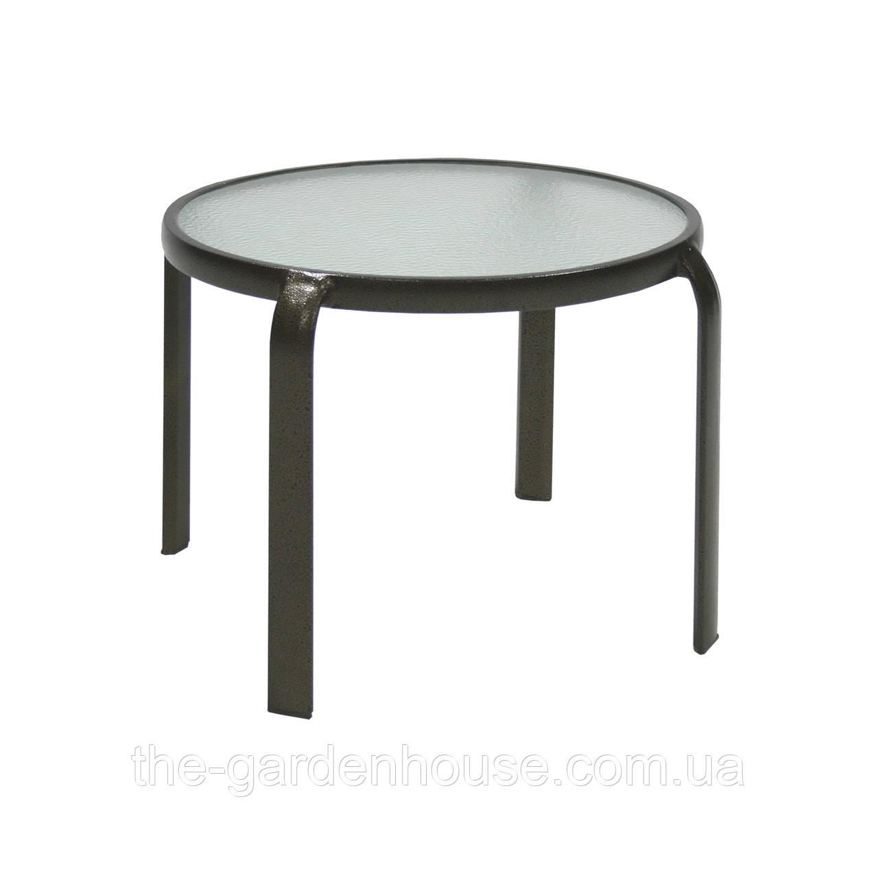 Приставной столик со стеклом Montreal