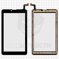"""Сенсорный экран для планшетов Elenberg TAB740; Irbis TZ47, TZ70; Nomi C07004 Sigma+, C07006 Cosmo+ ; Digma  Hit 4G, Plane 7.4 4G, 7"""", 184 мм, 104 мм,"""