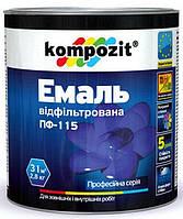 Композит - Эмаль универсальная алкидная атмосферостойкая, 2,8кг.