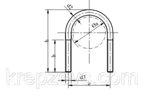 Винт-скоба DIN 3570