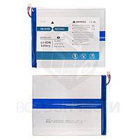 """Аккумулятор NB-10100 для планшета Nomi W10100 Deka 10"""", 145 мм, 120 мм, 2,2 мм, Li-ion, 3,7 В, 6000 мАч, original"""