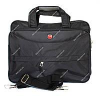 Містка чоловіча сумка під ноутбук і документи (899)