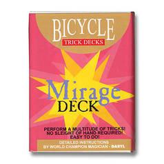 Трюкова колода | Bicycle Mirage Deck