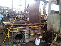 Ремонт китайского пресса для металлолома