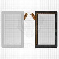 """Сенсорный экран для планшетов China-Tablet PC 7""""; Assistant AP-704, AP-713, 7"""", 115 мм, 189 мм, 6 pin, емкостный, белый, #A11020700067_V08"""