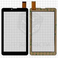 "Сенсорный экран для планшетов China-Tablet PC 7""; Supra M723G, M725G; X-digital TAB 711 3G, 7"", 184 мм, 104 мм, 30 pin, емкостный, черный,"