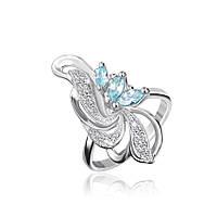 Серебряное кольцо с фианитом КК2ФТ1/006 - 19,3