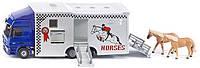 Грузовик для перевозки лошадей Siku 4006874019427