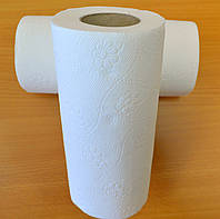Бумажное полотенце кухонное двухслойная 100% целлюлоза 15м