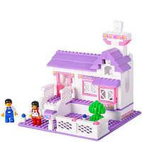 Детский конструктор Розовая мечта Домик в деревне