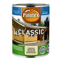 Пинотекс Pinotex Classic - защитно-декоративный состав для древесины с полуглянцевым покрытием, 3л.