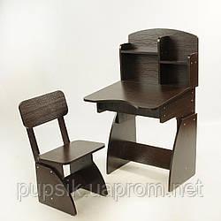 Парта растущая + стульчик венге, Финекс