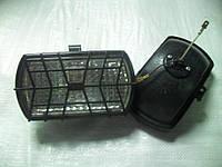 Фара рабочая (прямоугольная с решеткой) ФПГ-110-01